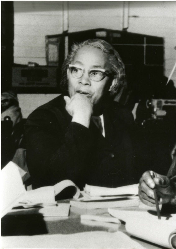 Septima Poinsette Clark, photograph by Ida Berman, ca. 1960s, courtesy of the Avery Research Center.