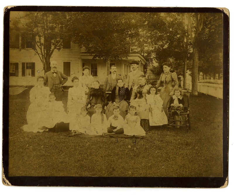 Pollitzer family, Griffon's Corner, Catskills Mountains, New York, ca. 1890,Anita Pollitzer Family Papers, South Carolina Historical Society.