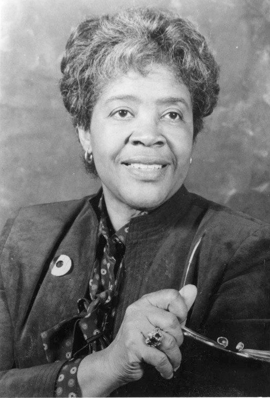 The Honorable Lucille Simmons Whipper, ca. 1980s, courtesy of the Avery Research Center.