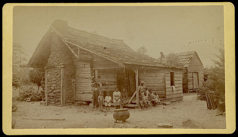 The Whitaker family, photograph by J.A. Palmer, Aiken, South Carolina, 1874, courtesy of Library of Congress.