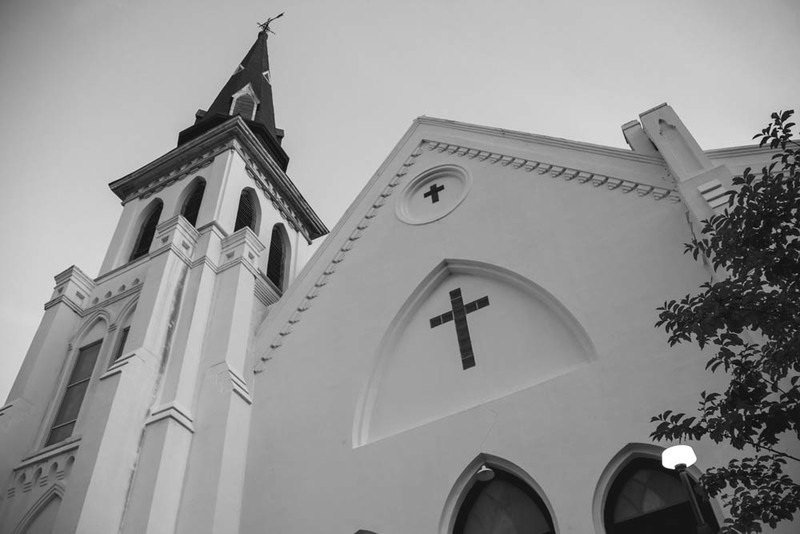 Mother Emanuel Church Steeple, photograph by Brandon Coffey, June 29, 2015, Charleston, South Carolina.