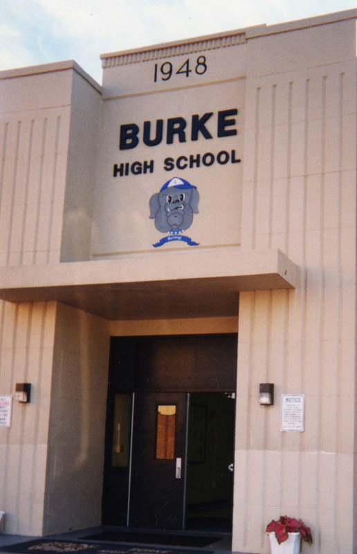 Burke High School, Charleston, South Carolina, 2003, courtesy of Dart Family Papers, Avery Research Center.