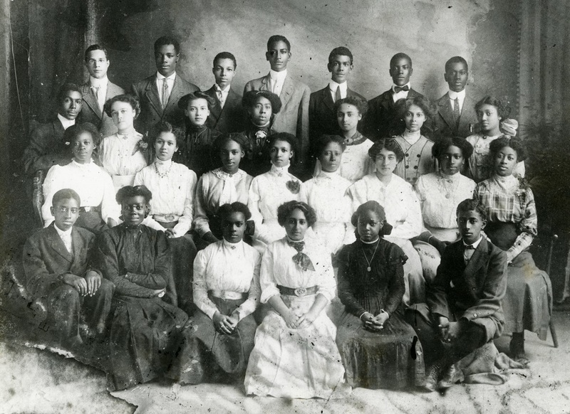 Graduating class of 1911, Charleston, South Carolina, courtesy of the Avery Research Center.
