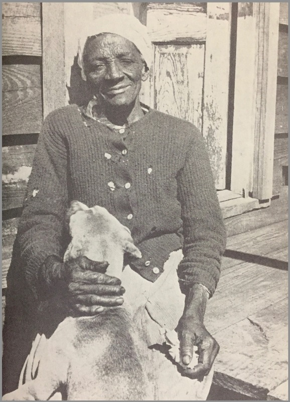 Katie Brown, descendant of Bilali, Sapelo Island, Georgia, 1930s, from Drums and Shadows.