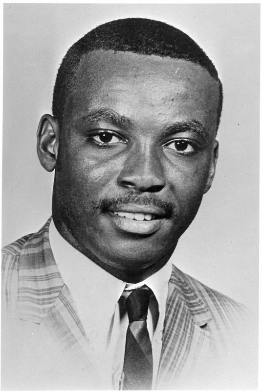 Samuel Hammond, age 18 years old, college student fatally shot during Orangeburg Massacre, ca. 1968, image courtesy of Cecil Williams.