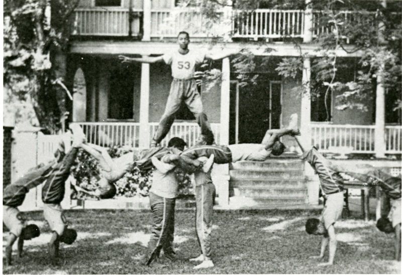 Gymnastics team, Charleston, South Carolina, 1939, courtesy of the Avery Research Center.