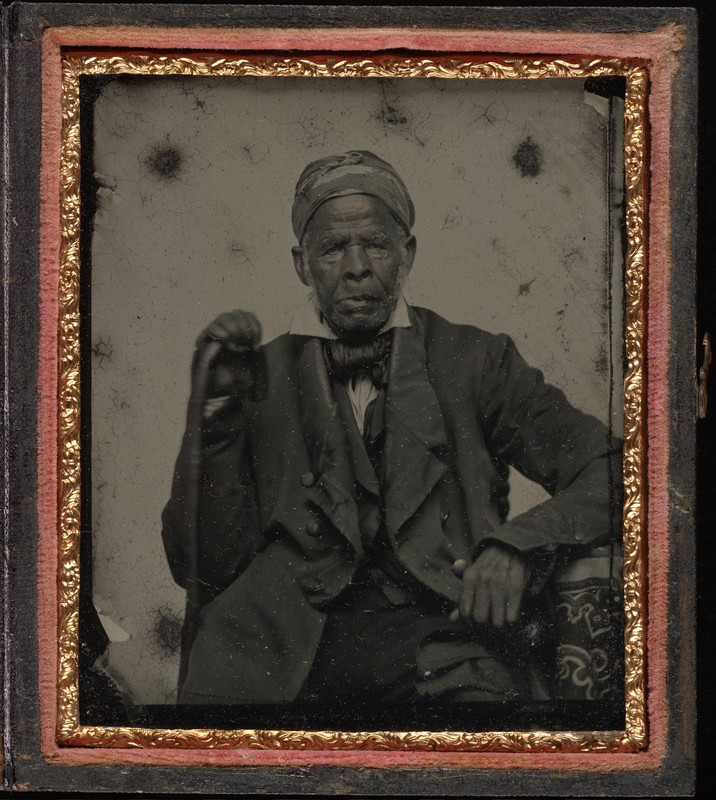 Portrait of Omar Ibn Said, circa 1850, courtesy of Beinecke Rare Book & Manuscript Library.