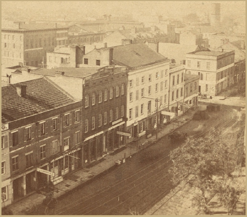 Panorama of Savannah, Georgia, 1868, courtesy of The New York Public Library.