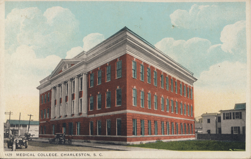 Medical College, Charleston, South Carolina, South Carolina Hospital Postcards, Waring Historical Library (MUSC).