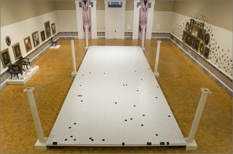 View of <em>Prop Master</em> exhibit, photograph by Rick Rhodes, Charleston, South Carolina, 2009, courtesy of Gibbes Museum of Art.