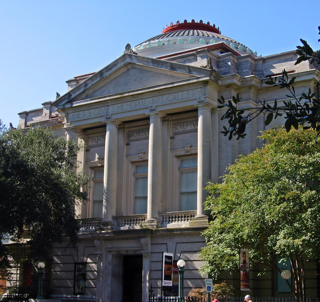 The Gibbes Museum of Art, photograph by Aude, Charleston, South Carolina, 2006.
