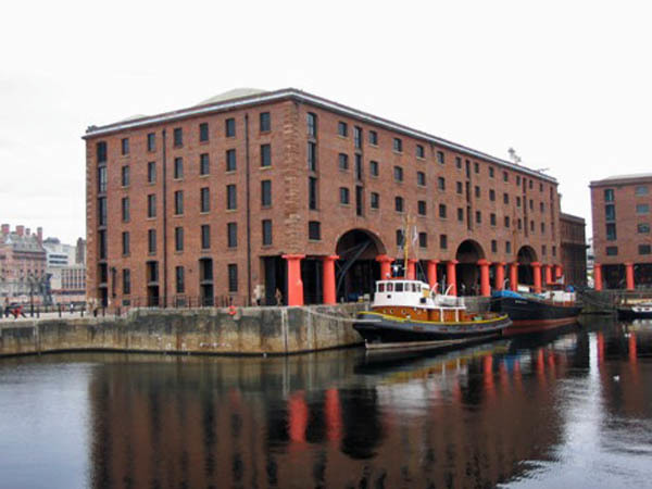 Merseyside Maritime Museum, photograph by Tony Corsini, Liverpool, England, October 16, 2007.