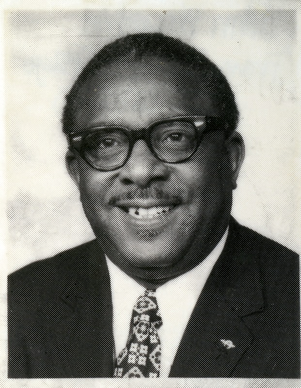 John Wrighten, ca. 1960s, courtesy of the Avery Research Center. Wrighten was as an Avery alumnus, World II veteran, and president of Charleston's NAACP Youth Council in the 1940s. In 1944, he led a letter writing campaign with Avery students to challenge segregation at the College of Charleston. He also instituted a lawsuit to attend law school in South Carolina.