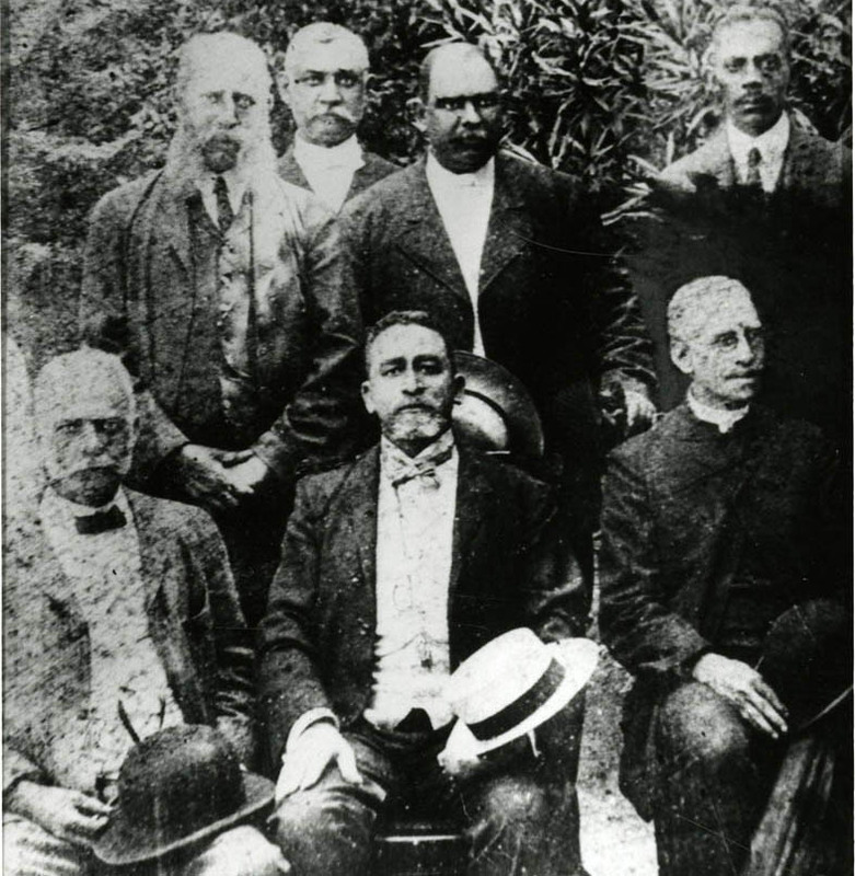 South Carolina's African American Reconstruction-Era Politicians, 1895, courtesy of the Avery Research Center.
