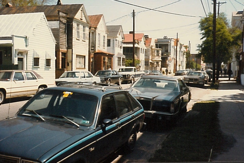 Morris Street, 1988, courtesy of City of Charleston.