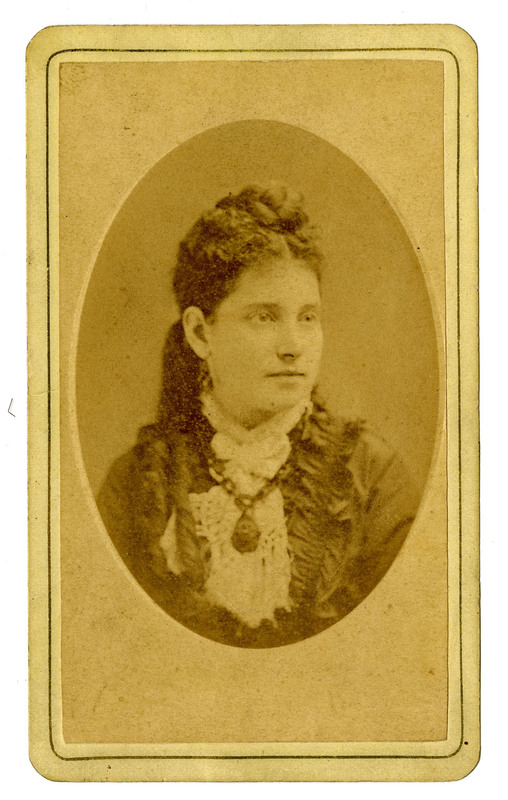Clara Guinzburg Pollitzer, ca. 1865-70, Anita Pollitzer Family Papers, South Carolina Historical Society.