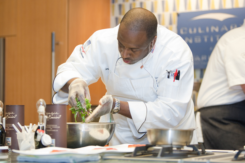 Kevin Mitchell, photograph by Mic Smith, 2009, courtesy of the Culinary Institute of Charleston.