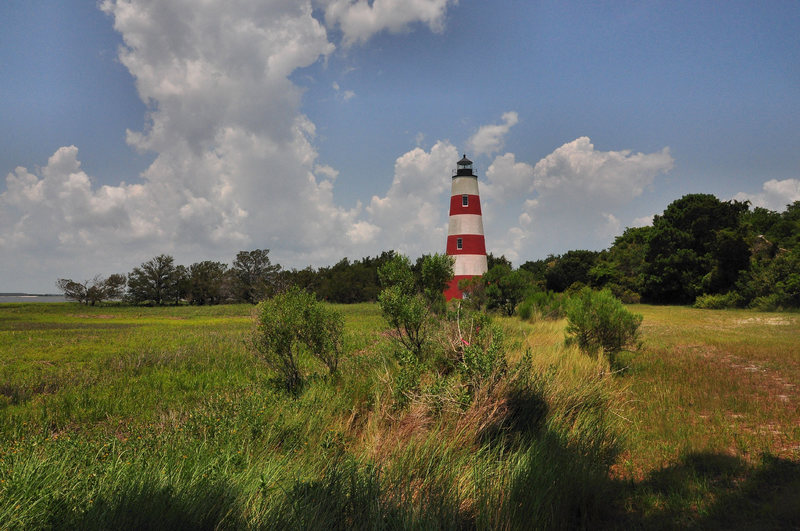 Sapelo Island Lighthouse, photograph by Brian Brown, Sapelo Georgia, 2013, Courtesy of Vanishing Coastal Georgia.