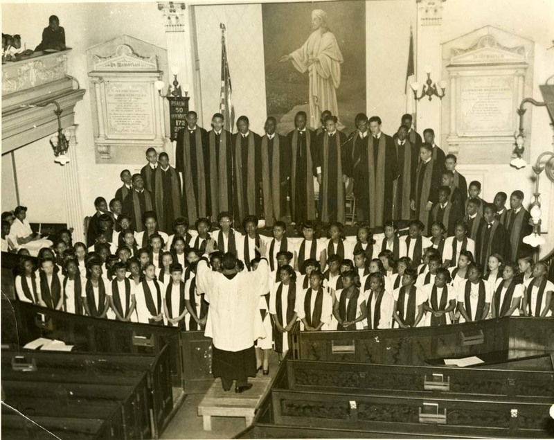Members of Avery's high school chorus, Charleston, South Carolina, ca. 1950s, courtesy of the Avery Research Center.
