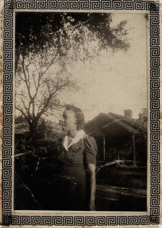 Septima Clark on Johns Island in the interwar years, Johns Island, South Carolina, Septima P. Clark Papers, courtesy of the Avery Research Center.