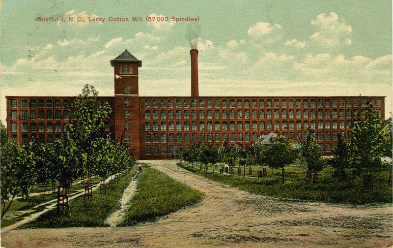 Loray Cotton Mill, Gastonia, North Carolina, ca. 1905-1915, courtesy of the North Carolina Collection Photographic Archives, Wilson Library, University of North Carolina at Chapel Hill.