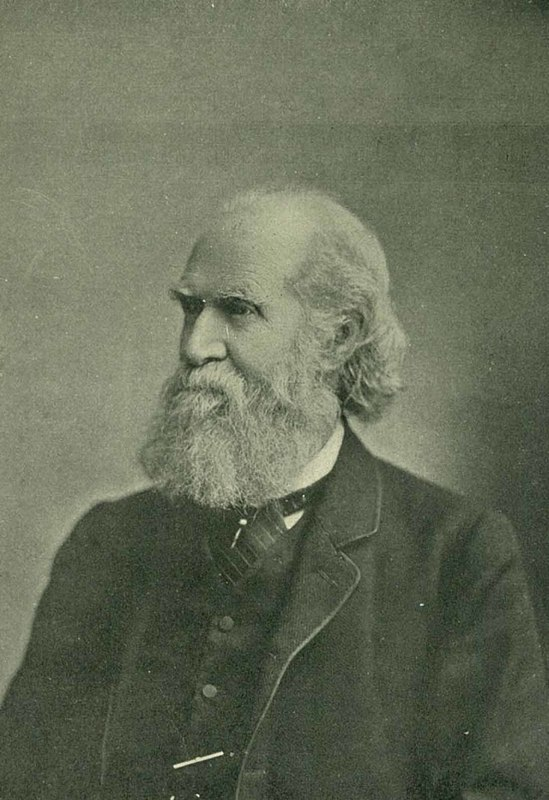 """Image of George W. Williams, published in """"History of Banking in South Carolina"""" by George W. Williams, 1900, courtesy of the College of Charleston Special Collections."""