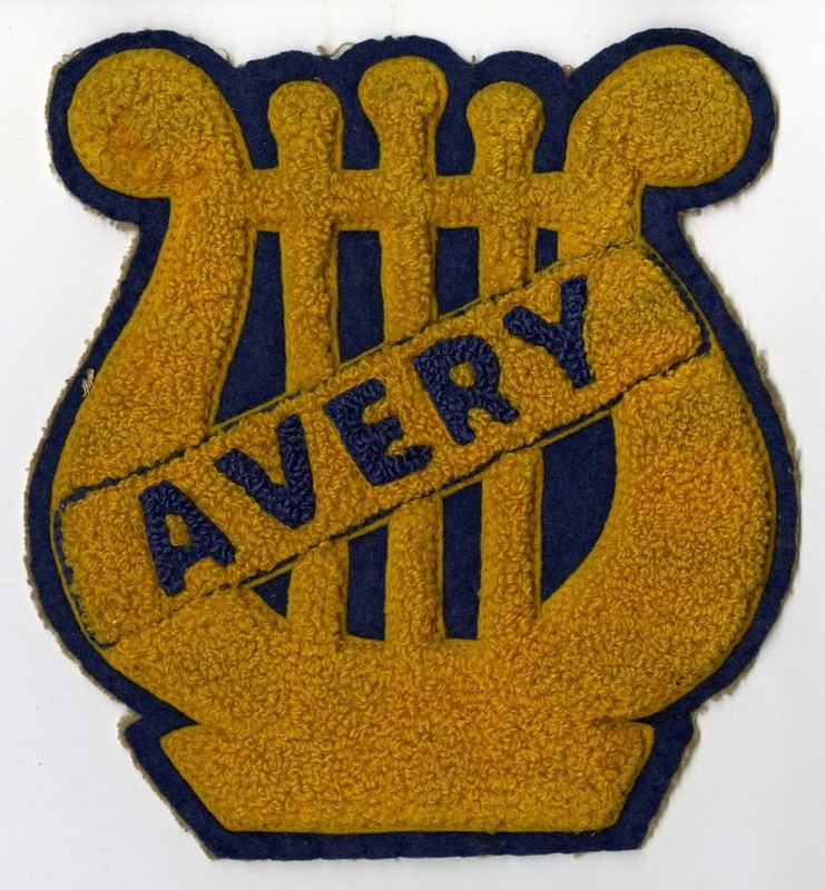 Avery varsity letter, ca. 1940s, courtesy of the Avery Research Center.