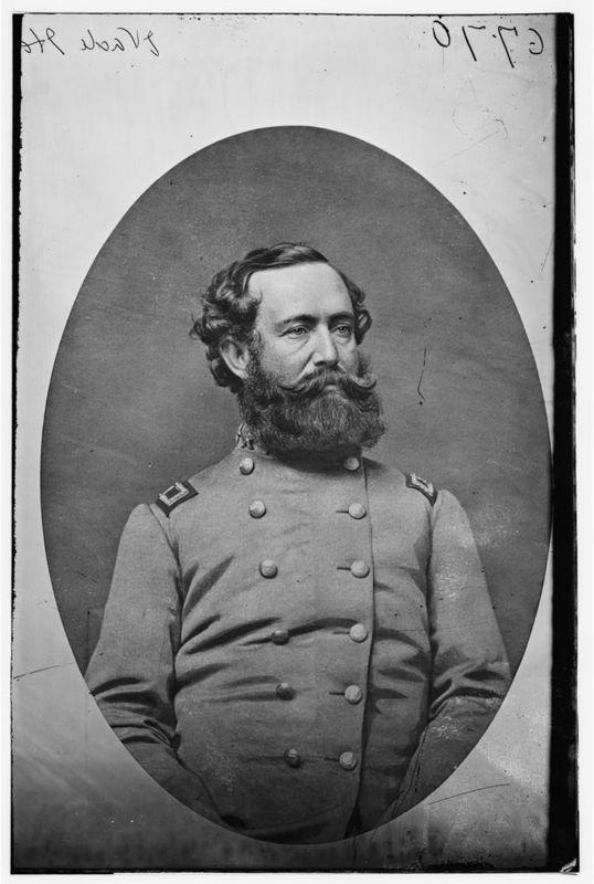 Wade Hampton, C.S.A., ca. 1865, courtesy of Library of Congress.
