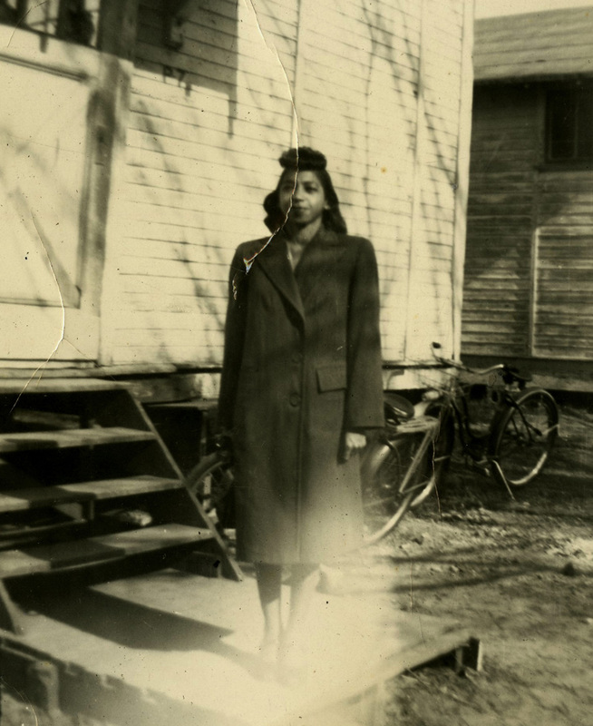 Lois Simms, ca. 1945, courtesy of the Avery Research Center.