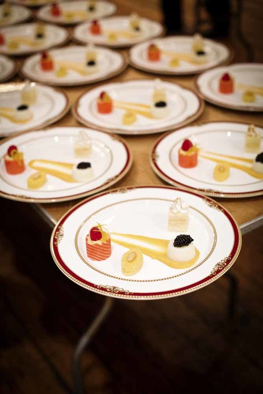 Dessert plate assortment, photograph by Jonathan Boncek, Charleston, South Carolina, April 19, 2015.