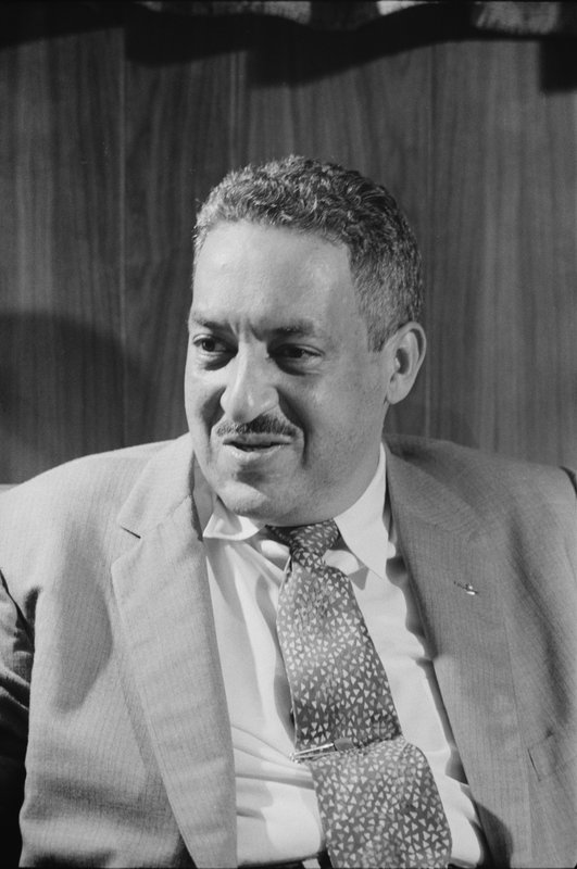 NAACP Attorney Thurgood Marshall, 1957, courtesy of the U.S. News and World Report Collection, Library of Congress.