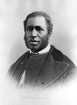 Richard Harvey Cain, circa 1870s, courtesy of National Archives and Records.