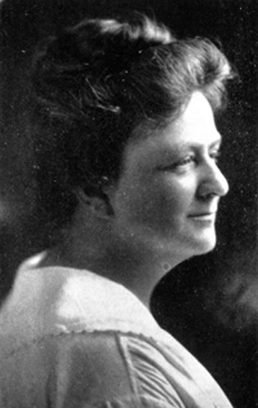 Susan Pringle Frost, circa 1920, courtesy of the Preservation Society of Charleston.