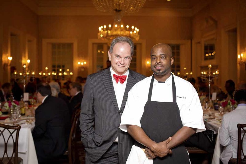 Event planners David Shields (University of South Carolina) and BJ Dennis (Personal Chef & Caterer), photograph by Jonathan Boncek, Charleston, South Carolina, April 19, 2015.
