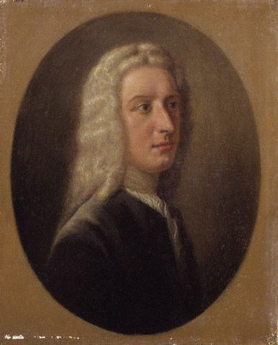Portrait of James Oglethorpe, by Alfred Edmund Dyer, circa 1735.