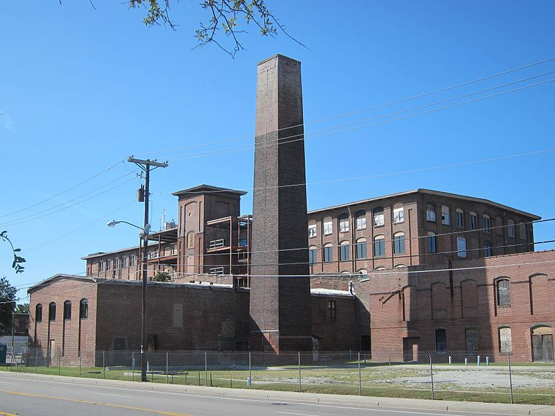 <p>Former Cigar Factory building, image by Luis F. Rojo, Charleston, South Carolina, September 2012.</p>