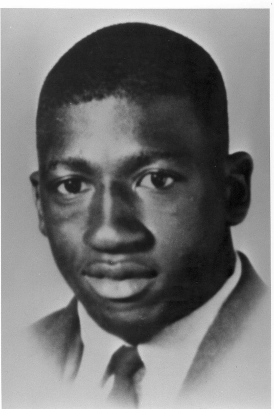 Delano Middleton, age 18 years old, college student fatally shot during Orangeburg Massacre, ca. 1968, image courtesy of Cecil Williams.