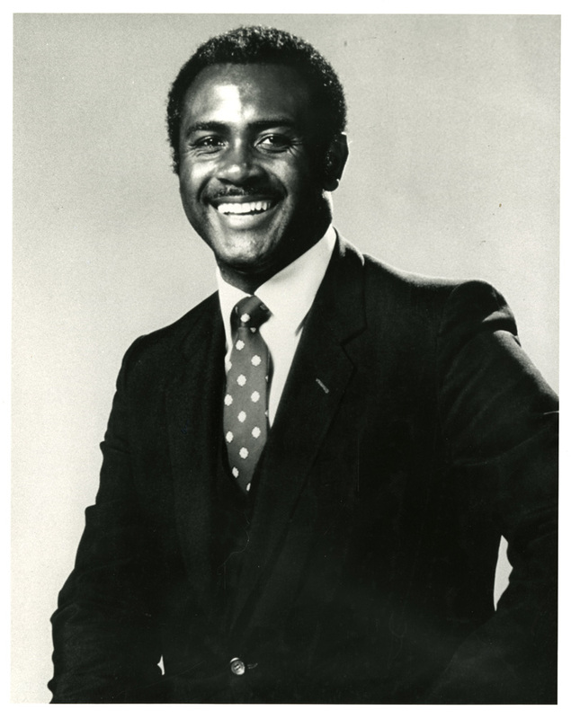 Harvey Gantt, ca. 1985, courtesy of Avery Photograph Collection, Avery Research Center.