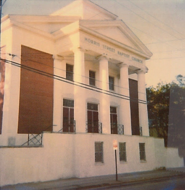 Morris Street Baptist Church, 25 Morris Street, 1989, courtesy of City of Charleston.