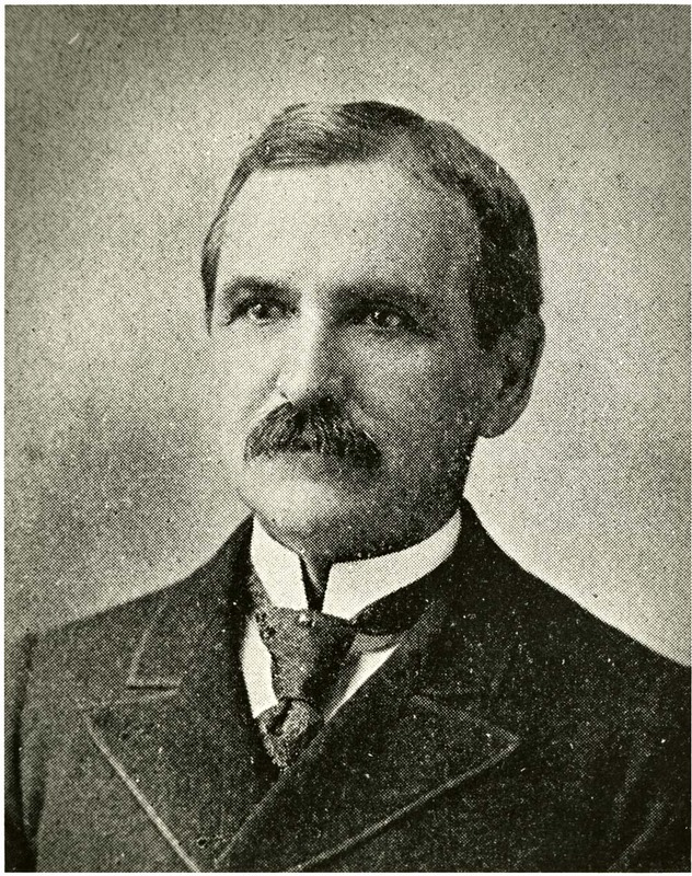 Morrison A. Holmes (principal 1886-1907), Charleston, South Carolina, courtesy of the Avery Research Center.