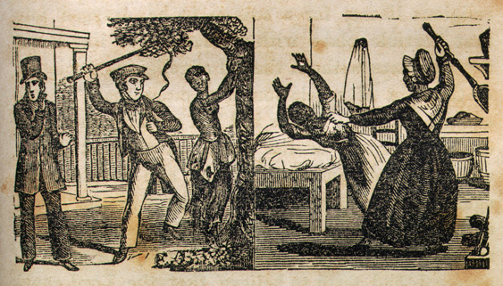 Images of punishment under slavery, from <em>Narrative of the Life and Adventures of Henry Bibb, an American Slave, Written by Himself</em>, 1849, courtesy of Documenting the American South, University of North Carolina-Chapel Hill.