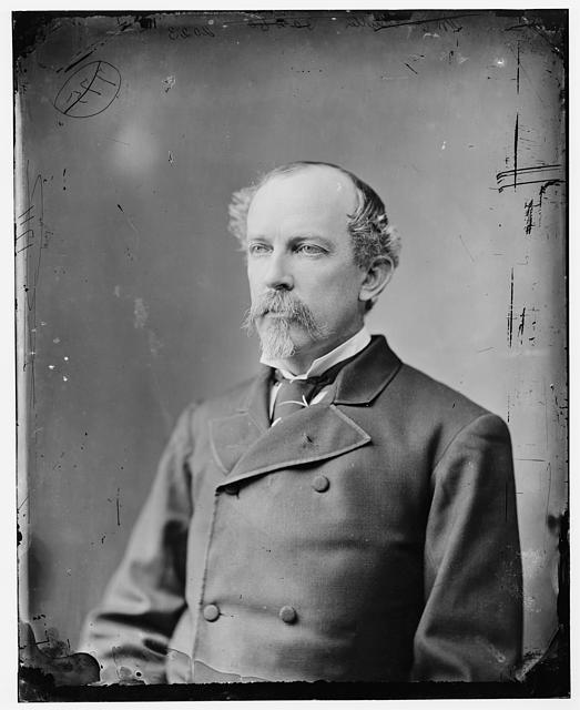 Matthew C. Butler, general in the Confederate Army, ca. 1865-1880, courtesy of Library of Congress  Prints and Photographs Division.