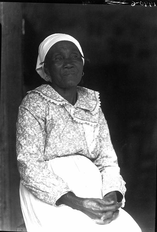 Portrait of Hagar Brown, a formerly enslaved woman, photograph by Bayard Wootten, Georgetown, South Carolina, 1938, courtesy of Library of Congress.