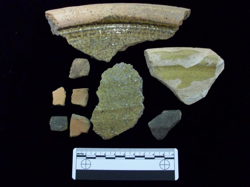 Parsonage utilitarian artifacts, photograph by Kimberly Pyszka, 2010.