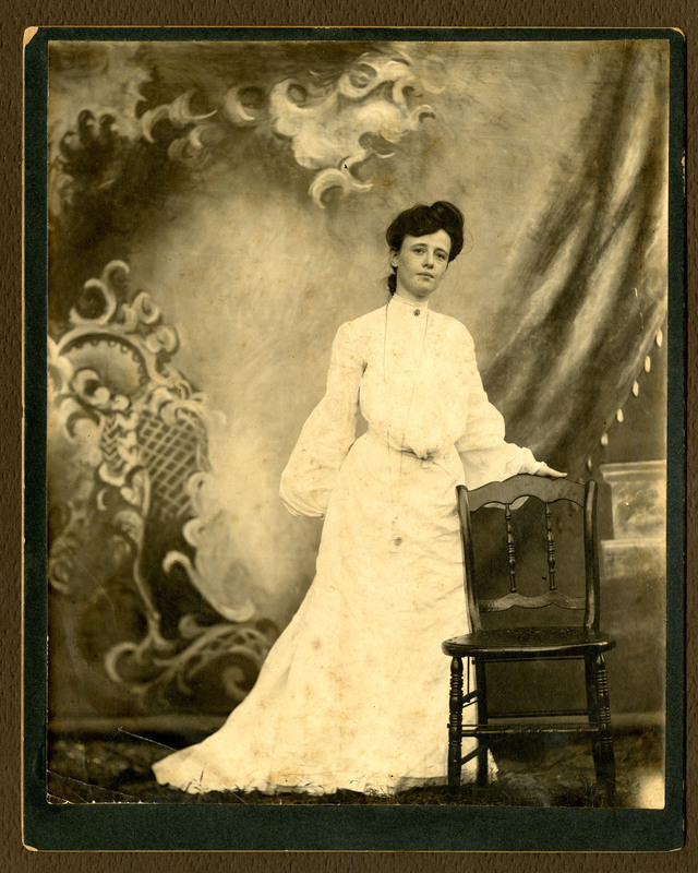 Carrie Pollitzer, ca. 1905, Anita Pollitzer Family Papers, South Carolina Historical Society.