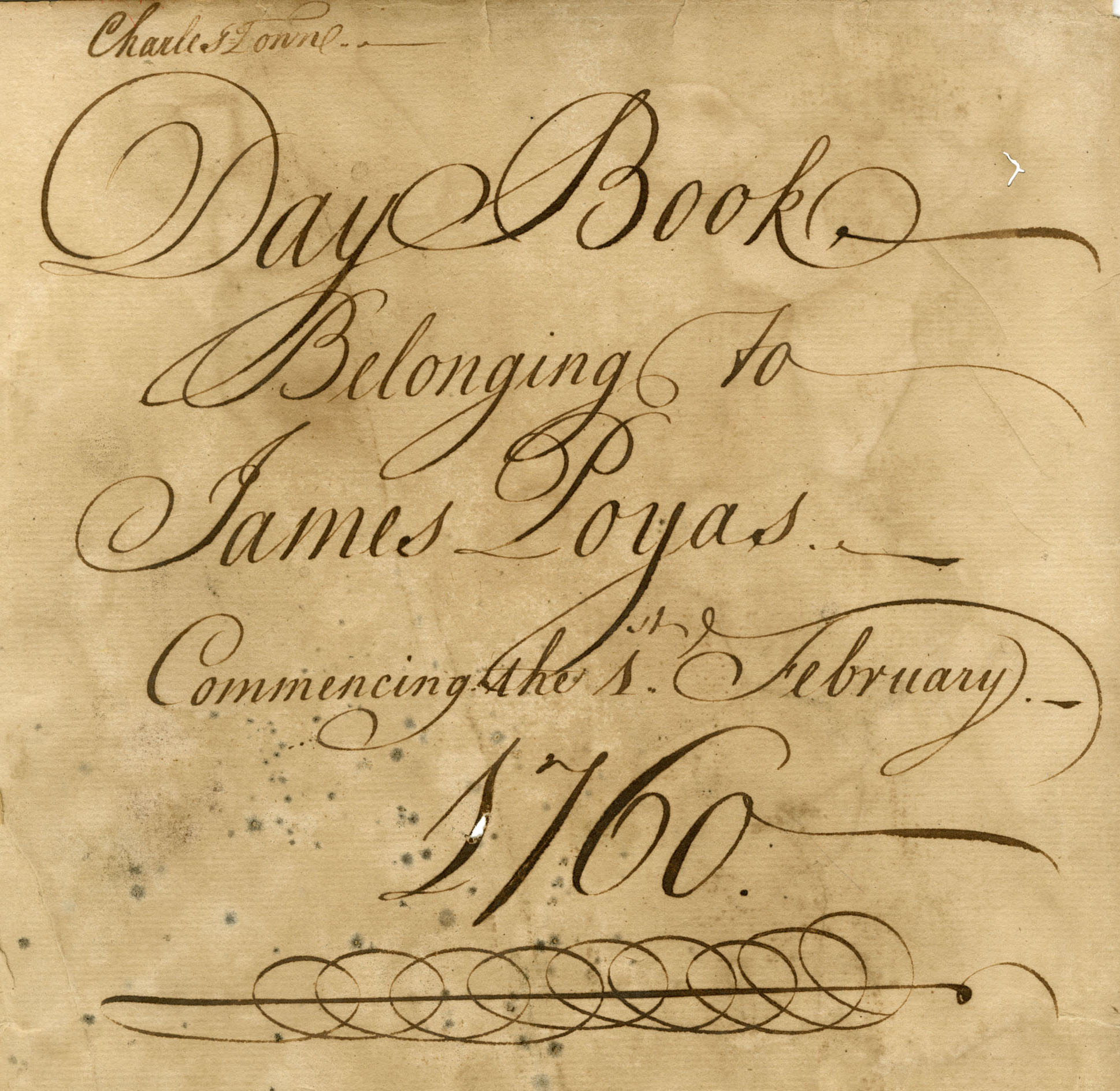 Poyas Daybook Cover