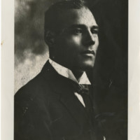 Portrait of artist Edwin Harleston, Charleston, South Carolina, courtesy of Avery Research Center for African American History and Culture.