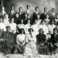 Graduating class of 1911, Charleston, South Carolina, courtesy of the Avery Research Center.