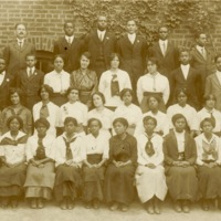 Graduating class of 1915, Charleston, South Carolina, courtesy of the Avery Research Center.