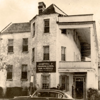 Cannon Street Hospital and Training School for Nurses, 135 Cannon Street, circa 1930s, courtesy of Waring Historical Library, MUSC, Charleston, S.C.